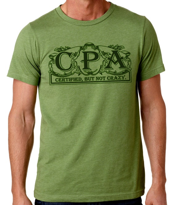 Cpa funny t shirt mens t gifts for men women by for T shirt design store near me
