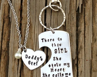 There is this girl she stole my heart she calls me daddy- Valentine's gifts for daddy from daughter -Daddy's Girl- Father Daughter- Man gift