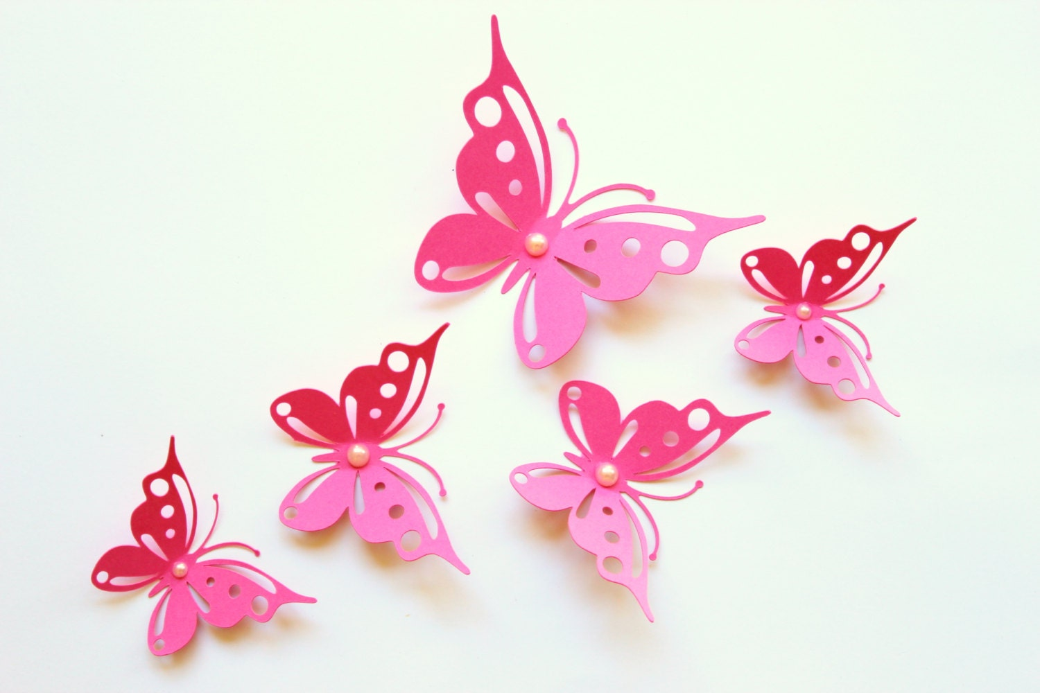 3d Butterfly Wall Decor Wall Butterflies For By Mydreamdecors
