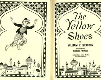 The Yellow Shoes by William Graydon is Arabian Tale of Magic for Children