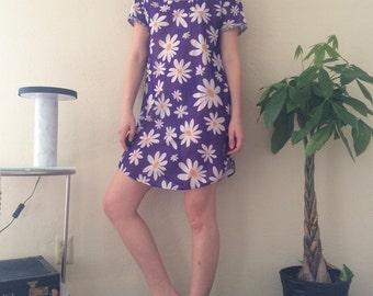 Sheer Purple Daisy Mini