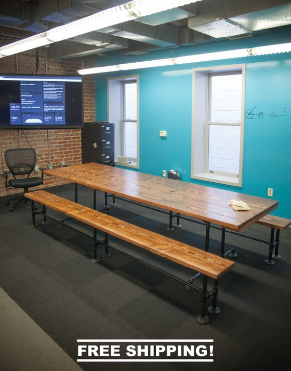 Industrial Conference Table Free Shipping By Emmorworks On