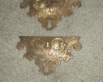 Antique ornamental drawer hardware