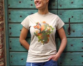 "T-shirt ""wild boar""-It Tuscan Animal"