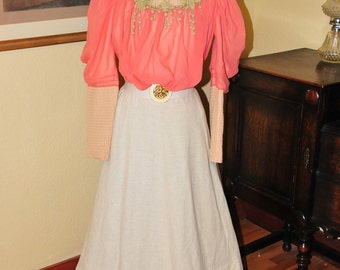 Edwardian skirt and waist(blouse)
