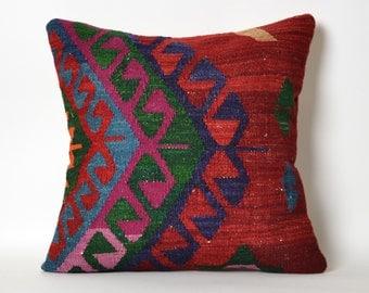 ethnic pillow, decorative pillow, cushion cover, kilim pillow, bohemian pillow, tribal pillow, throw pillow, pillow, decorative pillows
