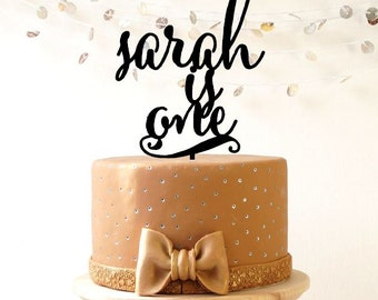 Personalized Birthday cake topper, custom cake topper, cake decoration