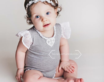 The White Buttercup Babe Headband