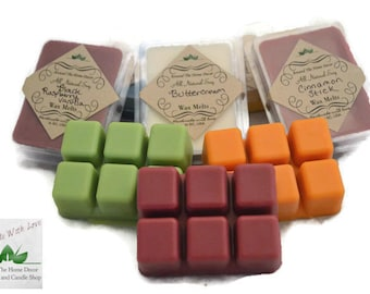 Buy 4, get 1 FREE. All Natural Vegan Soy Wax Melts / Tarts. 90+ Fragrances.
