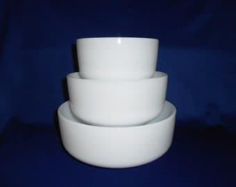 Federal Opal Mixing Bowl Set
