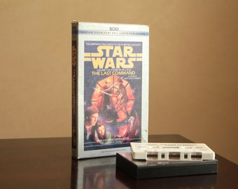 Star Wars The Last Command by Timothy Zahn audio book on tape / Volume 3 of a three book cycle