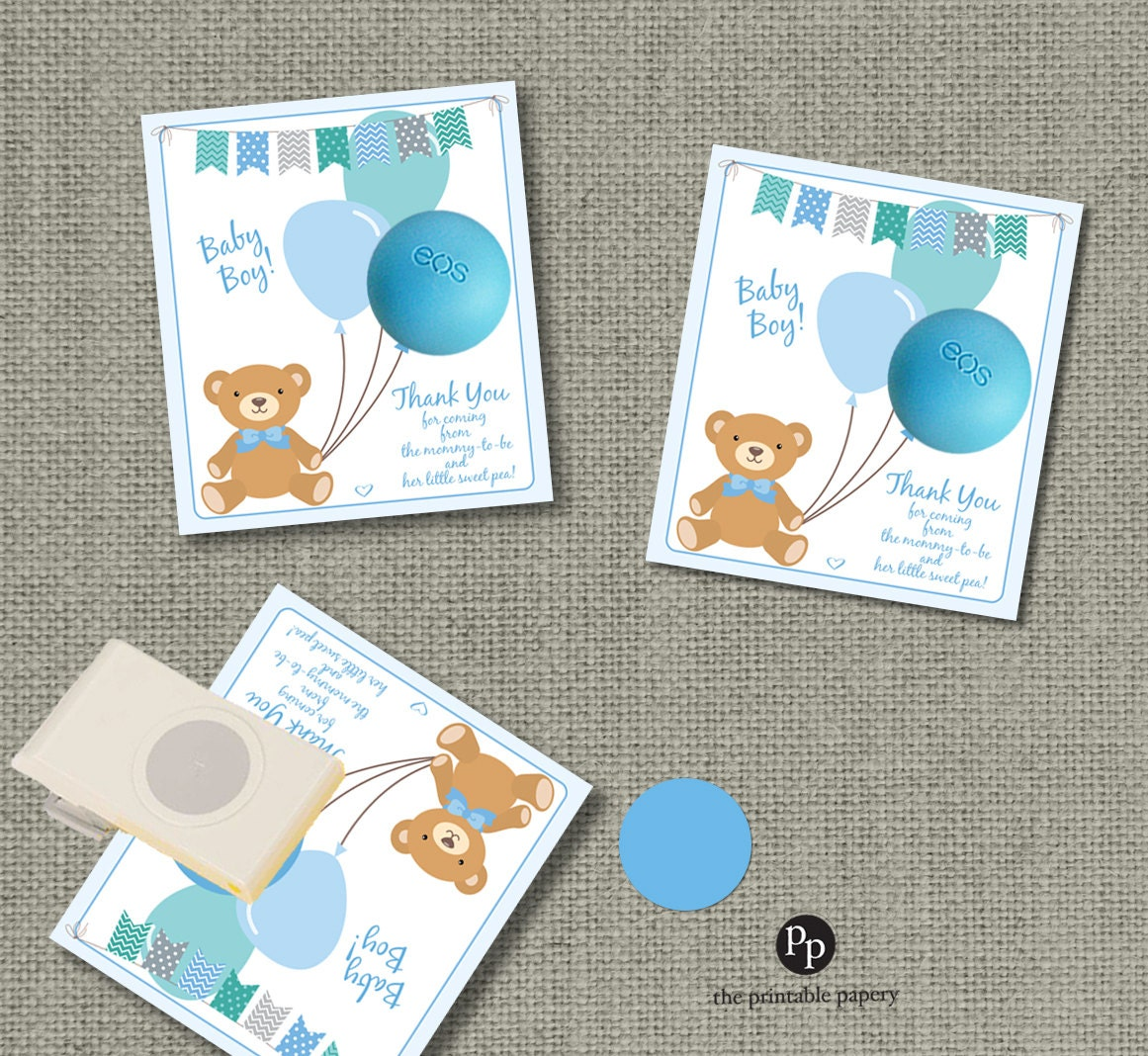 This is a photo of Playful Baby Gift Tag