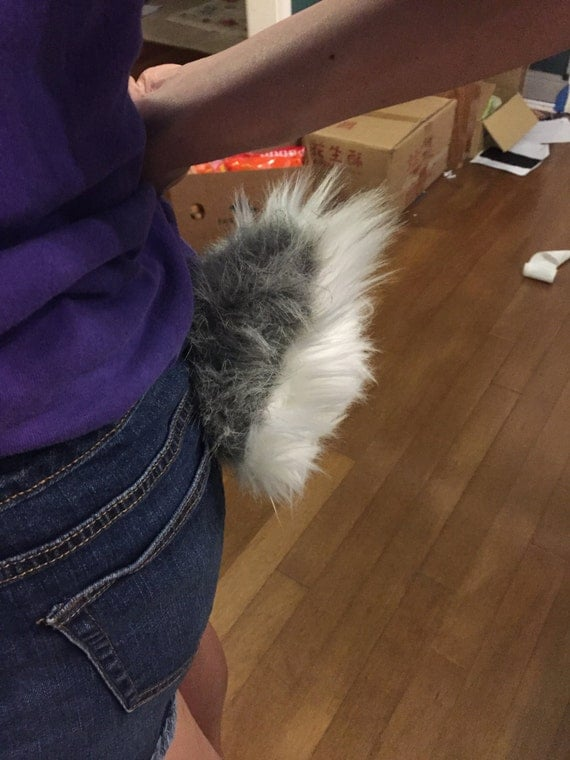 how to make a fluffy rabbit tail