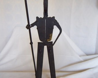 Vintage Wrought Iron Sculpture-Tools-Man