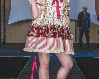 Country Carousel Dress - Lolita Style