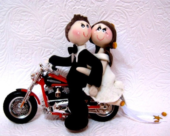 motorcycle wedding cake toppers motorcycle wedding cake topper bike wedding cake topper 17615