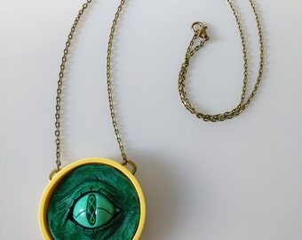 Demonic Wishing Eye - Adventure Time Inspired Necklace
