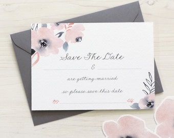 Sweet Posey 'Write Your Own' Save The Date, DIY Wedding Stationery