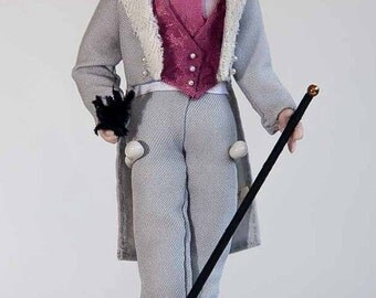 Victorian Groom/Man Miniature Doll