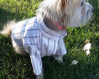 Striped Shirt, dog shirt, dog clothing, dog clothes, pet clothing, pet clothes, cute dog shirt, dogs, pets, clothing for dogs, clothing