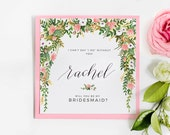 Elizabeth Collection - Will You Be My Bridesmaid Cards