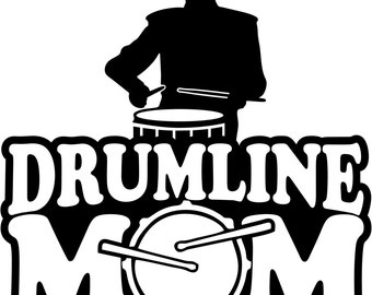 Boy Drummer Drumline Mom Short Sleeve Gildan T Shirt Many Colors