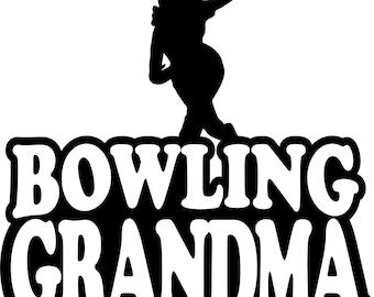 Bowling Grandma Hoodie/ Bowling Grandma Sweatshirt/ Bowling Grandma Clothing/ Bowling Grandma/ Girl Bowler Bowling Grandma Hoodie Sweatshirt
