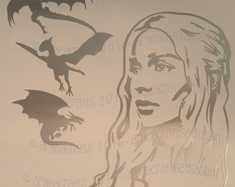 Game of Thrones Character Silhouettes Vinyl Decals
