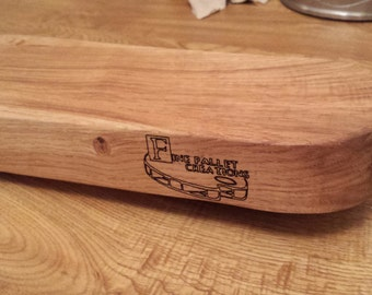 Solid oak chunky chopping/serving board