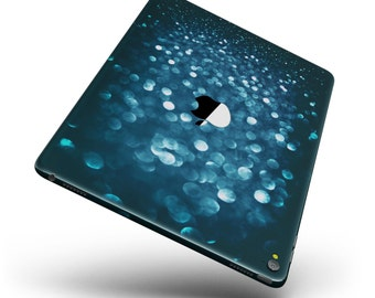 Unfocused Blue Glowing Orbs of Light Full Body Skin Decal for the Apple iPad Pro, Air or Mini (All Models Available)