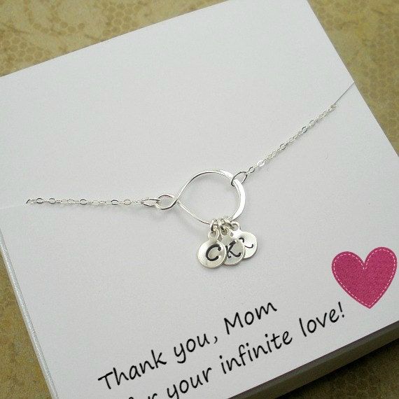 Personalized mom gifts necklace