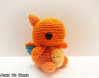 Crochet Charizard Inspired Chibi Pokemon