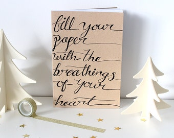 ON SALE* William Wordsworth Notebook