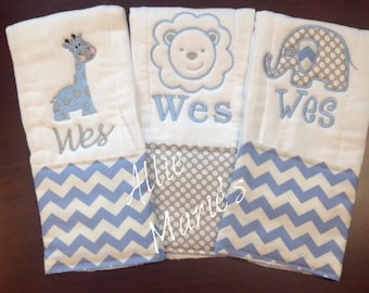 Baby Burp Cloths, Burp Cloths, Boy Burp Cloth, Girl Burp, Embroidered Burp Cloth, Personalized Burp Cloth, Monogrammed Burp Cloth