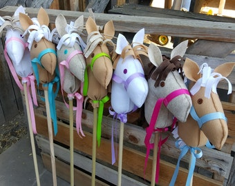 Horse Party Favor, Stick Horse Party Favor, Pony Party Favor, Ready to Assemble