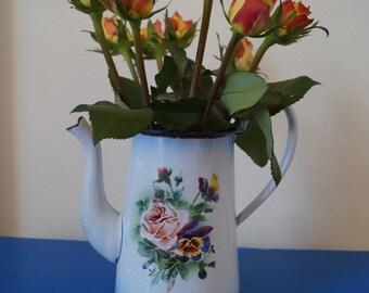 Tradional floral patterned jug