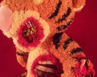 Creepy Cute Tigger Zombie Plush