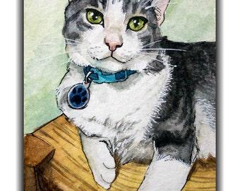 Custom Pet Portraits- WATERCOLOR