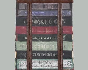Spell Books Diaper Stacker-Wizard Books Diaper Stacker-Magic Books Diaper Stacker-MTO