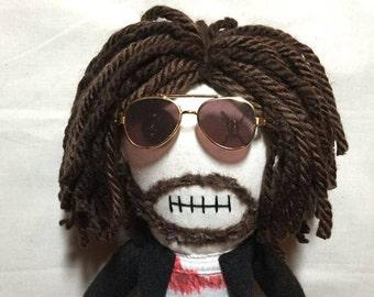 "Creepy n Cute Zombie Doll - ""Roc"" (David Della Rocco) - Inspired by Troy Duffy's Boondock Saints (D&P)"