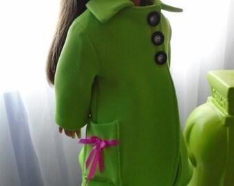 Americangirl coat, poupée 18 pouces