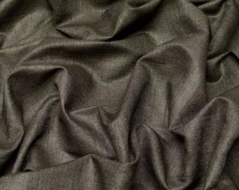 """Dusty Gray Matka Raw Silk 100% Raw Silk Fabric, 50"""" Wide, By The Yard (WT-313)"""