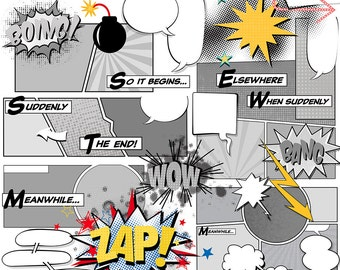 Design your own comic strip