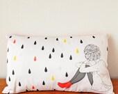 Rectangular cushion Red Boots 20' x 11'