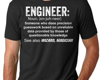 Engineer T-Shirt Gift For Engineer Tee Shirt Funny Profession Tee Shirt