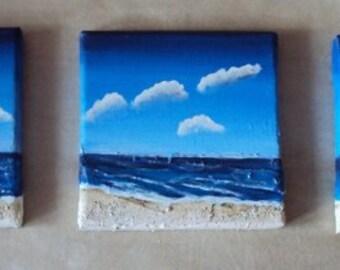 """Triptych """"Sea"""""""