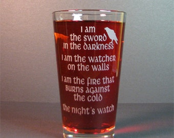 Drink glass,Night's watch