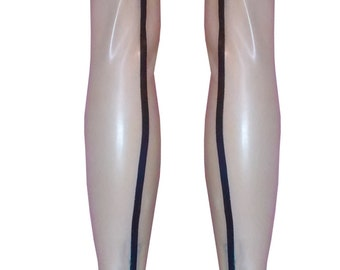 Seamed Latex Stockings | The 'Essential' Collection | Latex Rubber Gummi | XS S M L XL | Range of colours