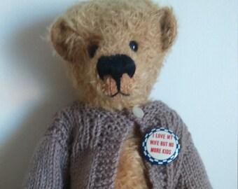 Ooak artist bear made by myself Hodgepodge bears