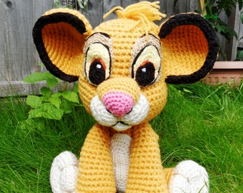 Crochet Simba Plush- The Lion King Inspired Simba Cub Soft Toy